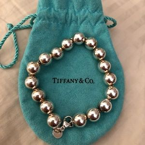 Tiffany sterling silver ball bracelet
